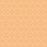 Yellow backgrounds with seamless patterns. Ideal for printing. Onto fabric and paper or scrap booking. Vector illustration Royalty Free Stock Photography