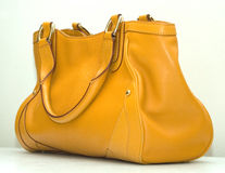 Yellow bag Royalty Free Stock Images