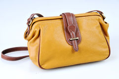 Yellow bag Stock Image