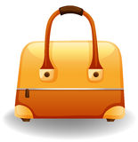 Yellow bag Stock Images