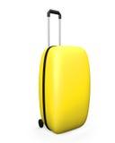 Yellow baggage Stock Image