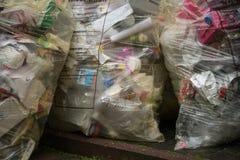 Plastic waste royalty free stock image