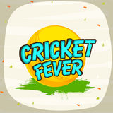 Yellow ball for Cricket sports concept. Stock Photo