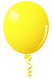 Yellow balloon Royalty Free Stock Image