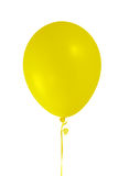 Yellow balloon Stock Image