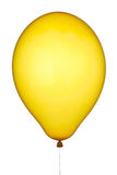 Yellow balloon Stock Photography