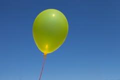 Yellow Balloon Stock Image