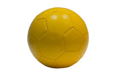 Yellow balloon. A yellow ball for the world championship in Brazil Stock Photos