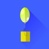Yellow Balloon Royalty Free Stock Photo