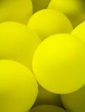 Yellow balloons Royalty Free Stock Photos