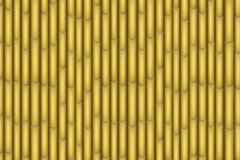 Yellow Bamboo background Stock Photo