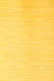 Yellow bamboo mat striped background texture Stock Images