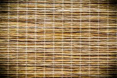 Yellow bamboo texture. With horizontal stripes Royalty Free Stock Image
