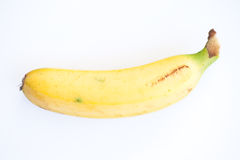 Yellow banana Royalty Free Stock Image