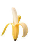 Yellow banana Stock Image