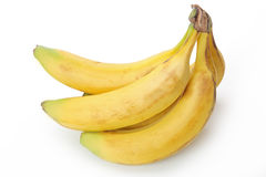 Yellow banana Stock Photography