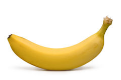 Yellow banana Stock Photo