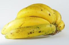 Yellow Banana. Bunch of bananas isolated on white background Stock Image