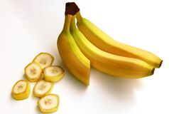 Yellow Banana Fruit Royalty Free Stock Images