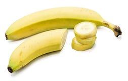Yellow banana Stock Photography
