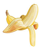 Yellow Banana Royalty Free Stock Photography