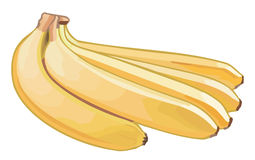 Yellow Banana Royalty Free Stock Images
