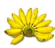 yellow banana Stock Photos