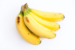 Yellow bananas. An image of organic yellow bananas Royalty Free Stock Photo
