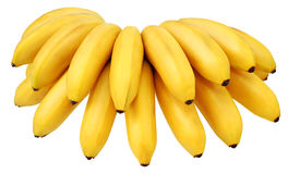 Yellow bananas Royalty Free Stock Photos