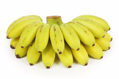 Yellow bananas Royalty Free Stock Images