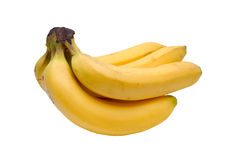 Yellow bananas Stock Photos
