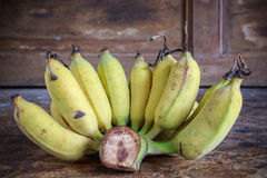 Yellow bananas fruit Stock Photography