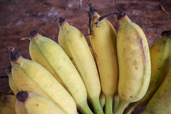 Yellow bananas fruit Royalty Free Stock Photography