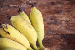 Yellow bananas fruit Royalty Free Stock Photos
