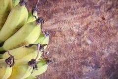 Yellow bananas fruit Stock Image