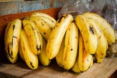 Yellow bananas taste sweet Stock Photography