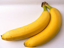 Food. Yellow bananas Royalty Free Stock Images