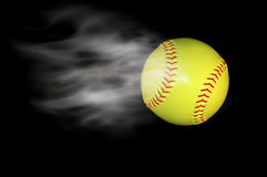 Yellow baseball Royalty Free Stock Photo