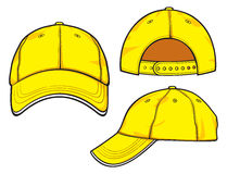 Yellow baseball cap Royalty Free Stock Photo