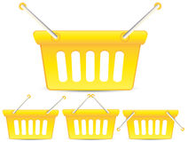 Yellow baskets Royalty Free Stock Photography