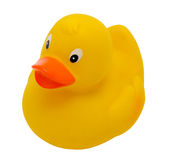 Yellow bath duck Royalty Free Stock Photo