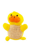 Yellow bath duck isolated on white Stock Photography