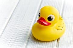 Yellow bath duck Royalty Free Stock Photos