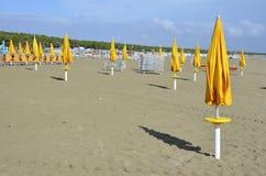 Yellow beach Stock Photography