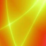 Yellow beams Royalty Free Stock Images