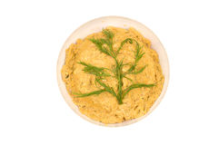Yellow beans puree Stock Photos