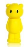 Yellow bear save money box. Royalty Free Stock Photography