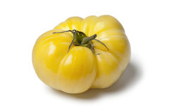 Yellow Beefsteak Tomato Royalty Free Stock Photography