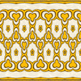 Yellow and beige Marble Stock Images