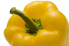 Yellow Bell Pepper Stock Photography